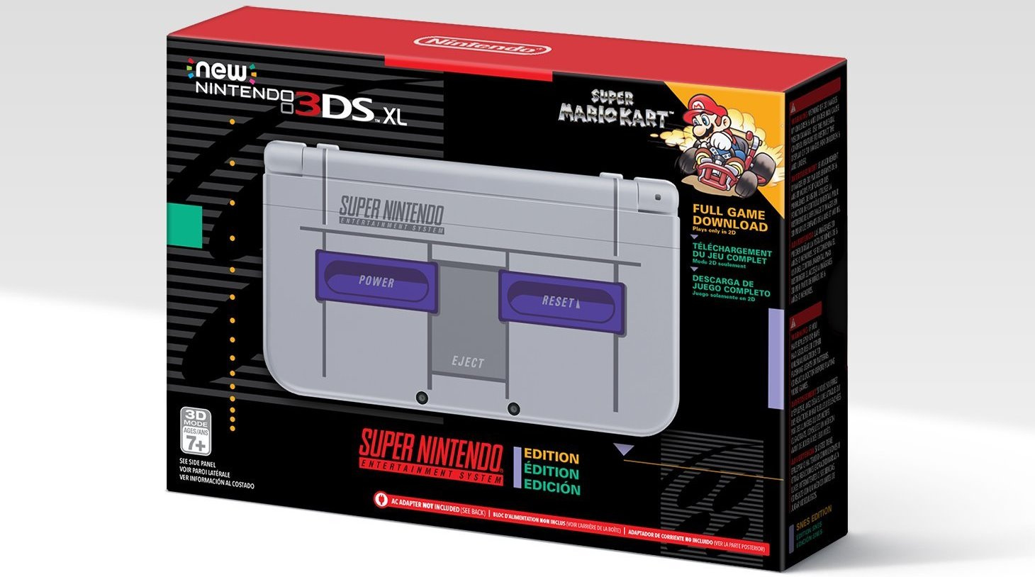amazon opens pre orders for new nintendo 3ds xl super. Black Bedroom Furniture Sets. Home Design Ideas