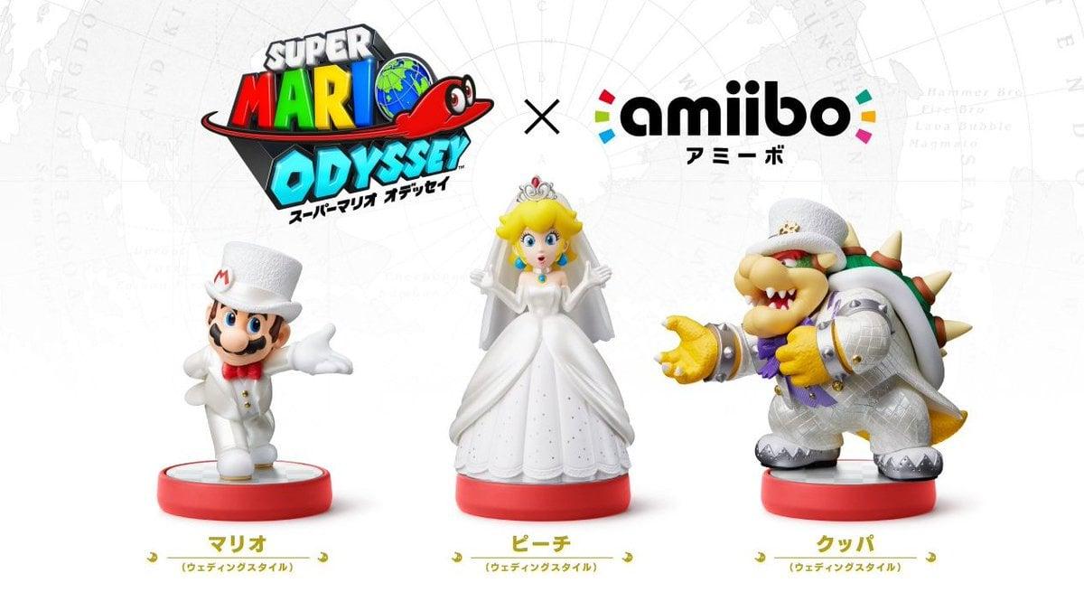 Super Mario Odyssey amiibo Outfit