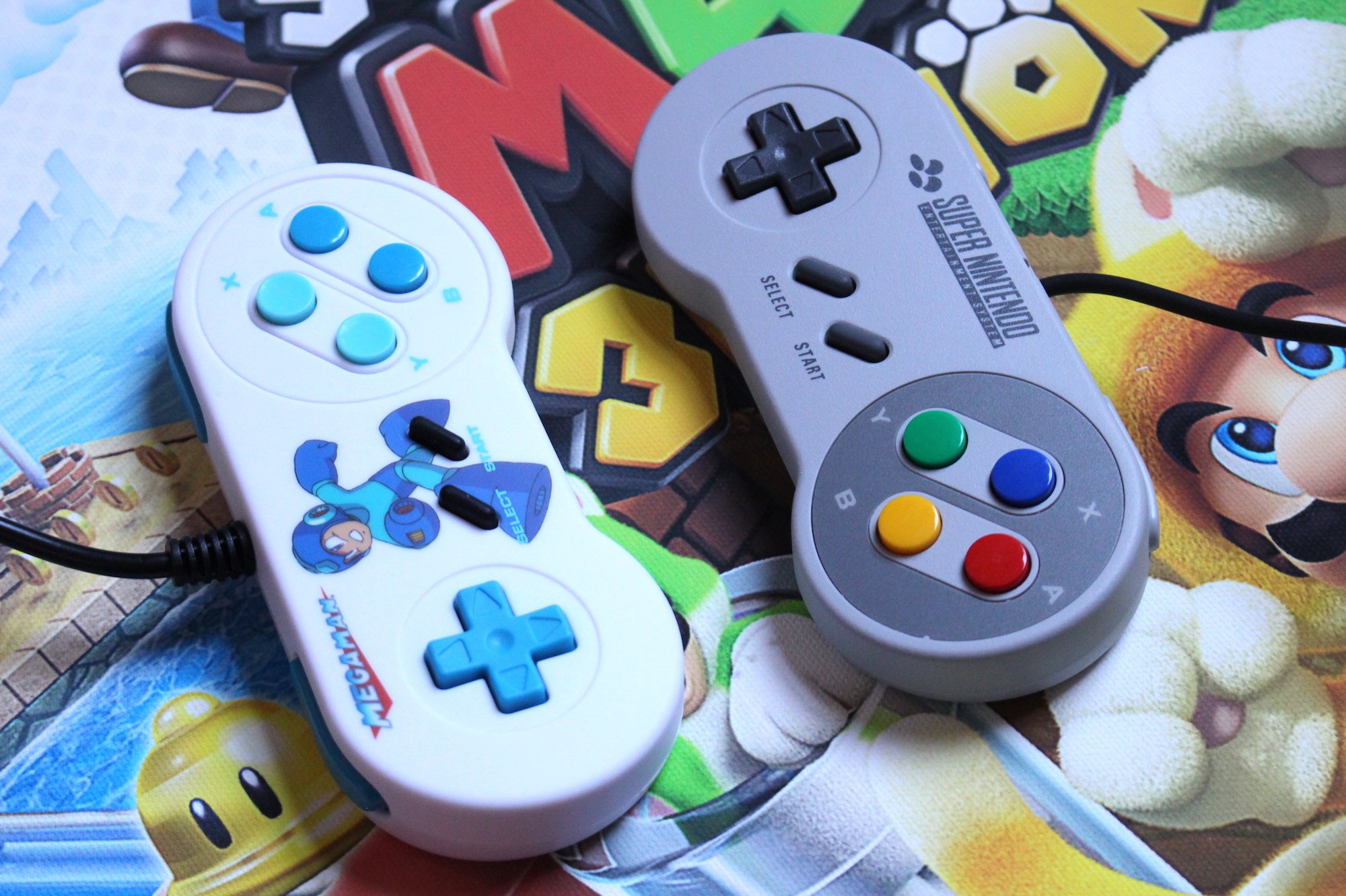 Hardware Review: Retro-Bit's SNES And Mega Drive Pads Will