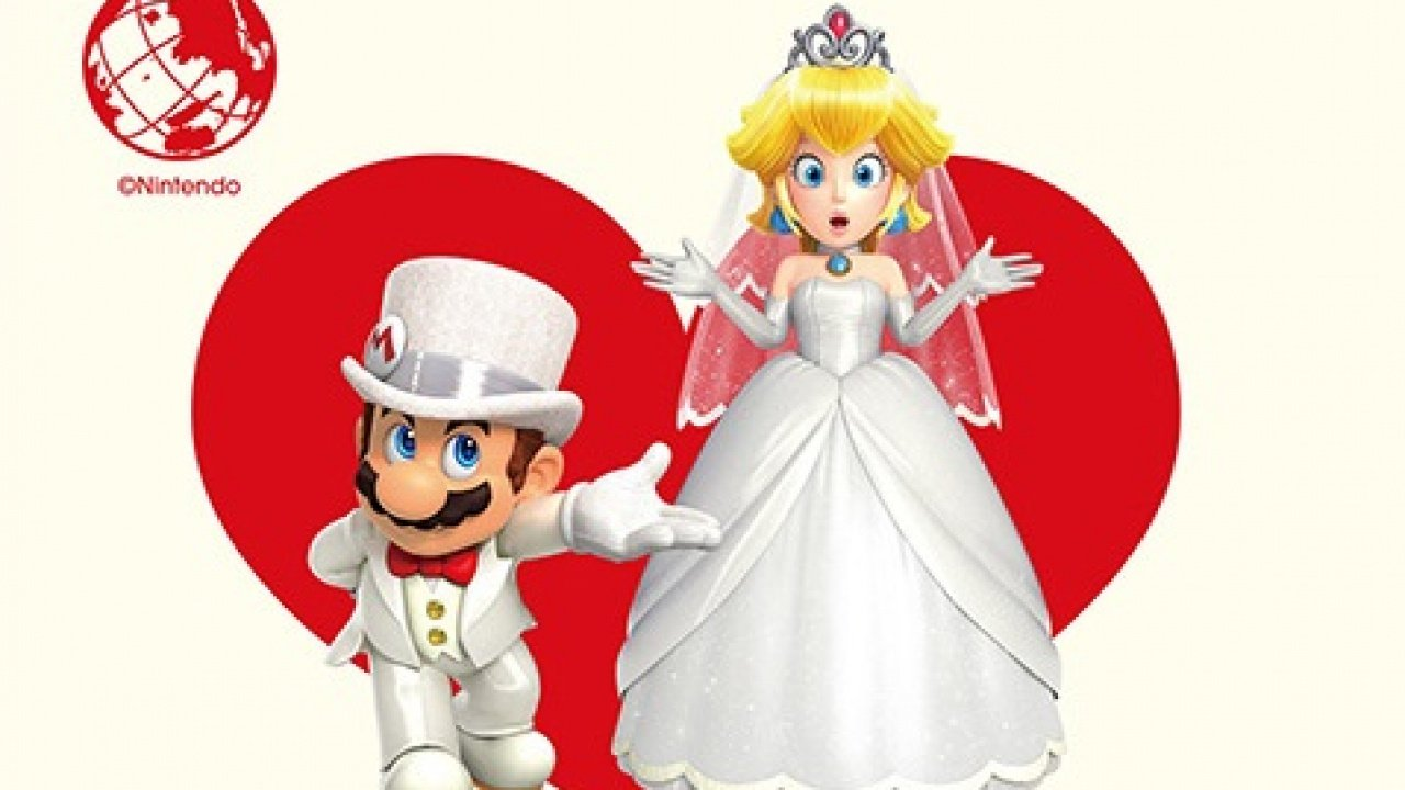 Random: Theres a Mario and Peach Marriage License