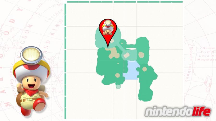 Cascade Kingdom - Captain Toad Location.jpg