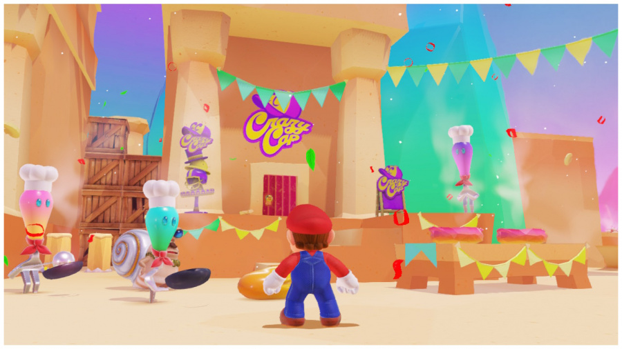 Crazy Cap Luncheon Kingdom