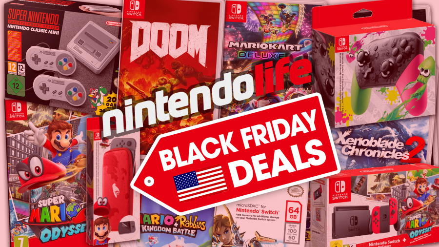 Guide: The Top Nintendo Black Friday 2017 Deals in the US
