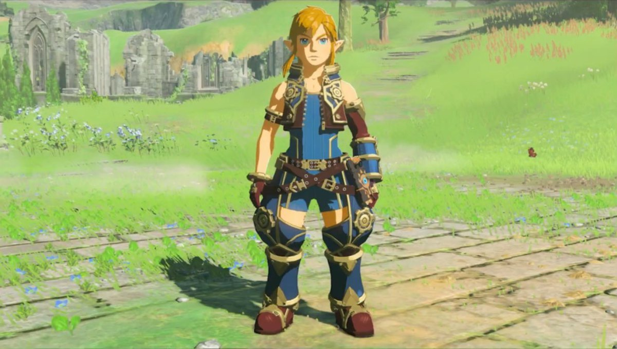 Zelda Breath Of The Wild How To Find Rexu0026#39;s Armour From Xenoblade Chronicles 2 - Guide ...