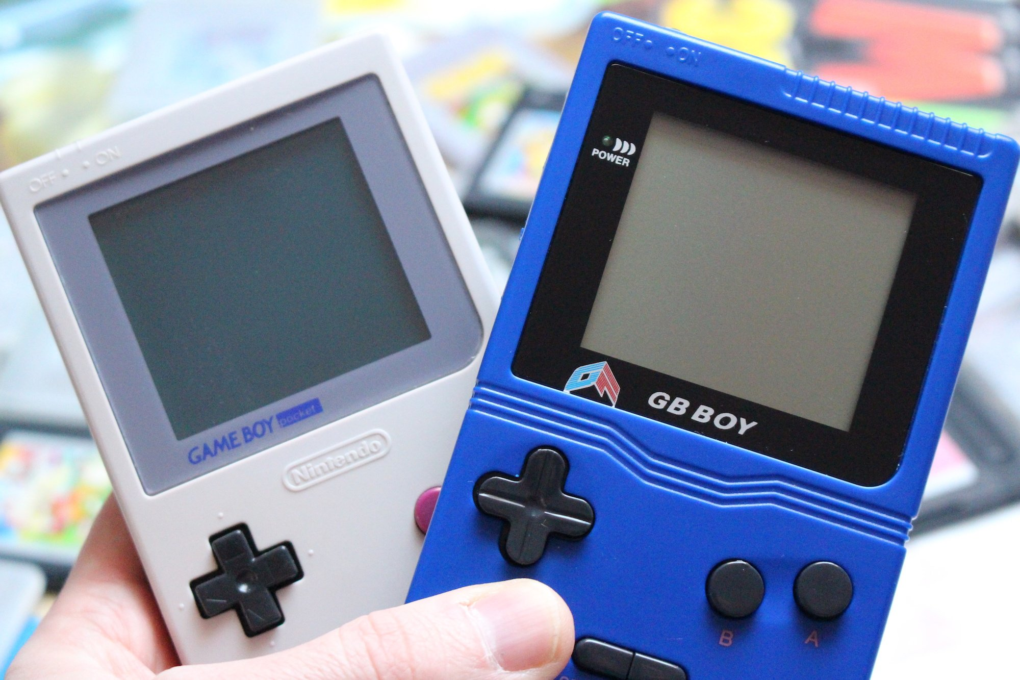 Game for colors - The Gb Boy Classic Has A Monochrome Lcd Screen Which Is Quite Blurry Perhaps Even More So Than The Original Game Boy Pocket And The Sound Appears To Be