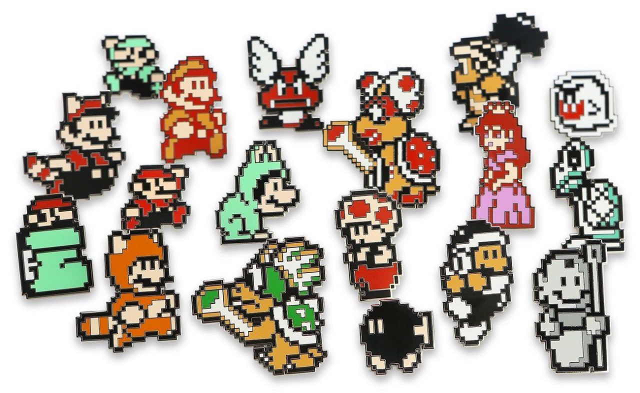 It S Going To Be Hard To Resist These Super Mario 3 Pin