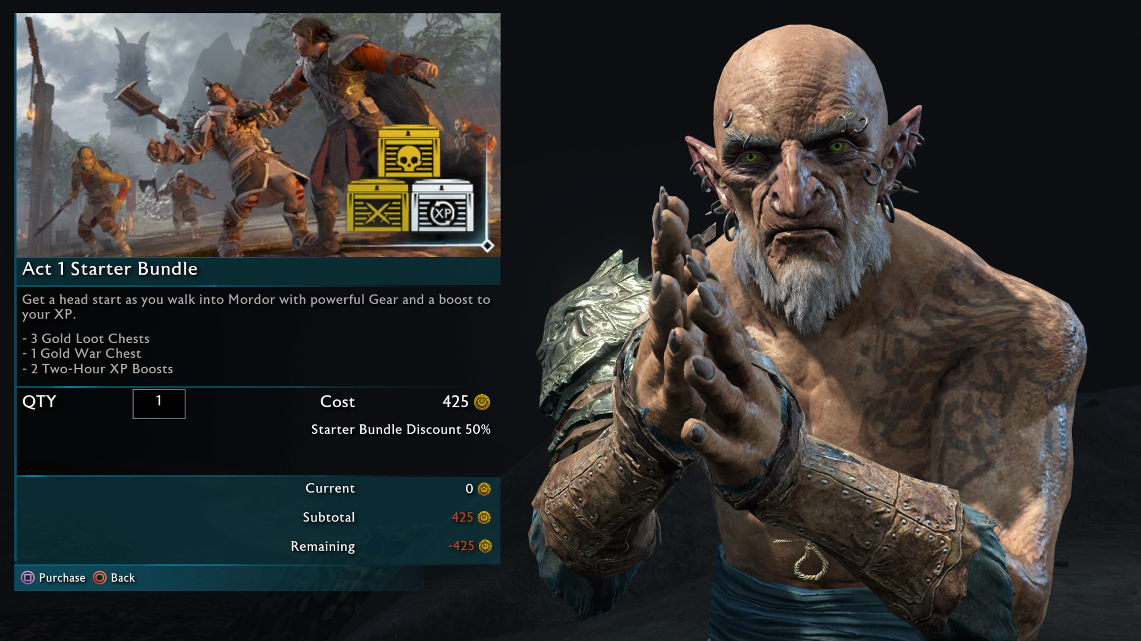 There was plenty of criticism of microtransactions in Shadow of War
