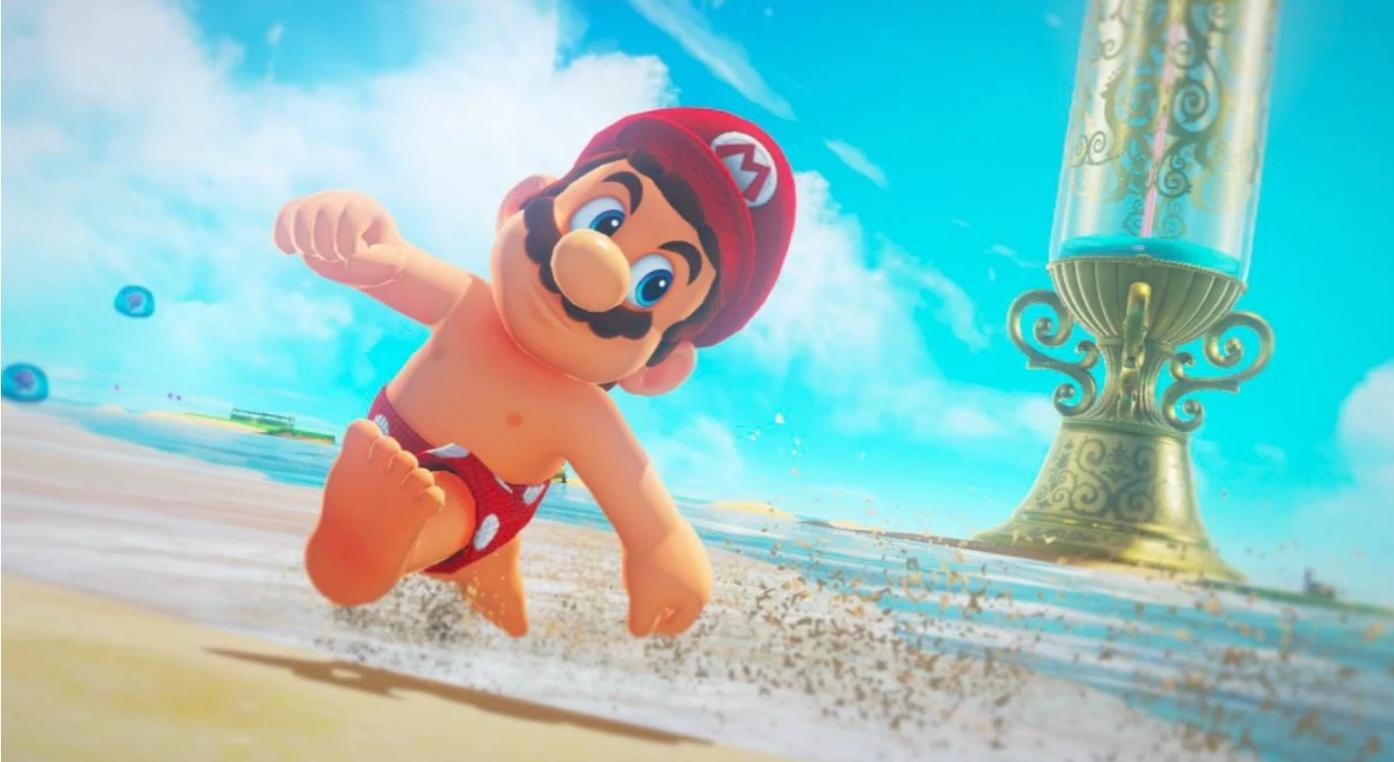 Mandatory image of Mario's alluring figure