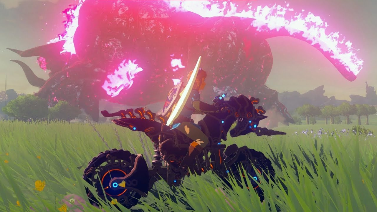 5 Things To Do With Your Master Cycle Zero In Zelda Breath