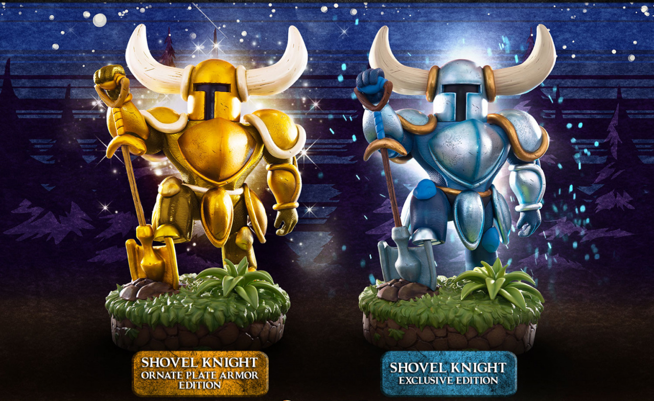 First 4 Figures Reveals Stunning Shovel Knight Collectibles