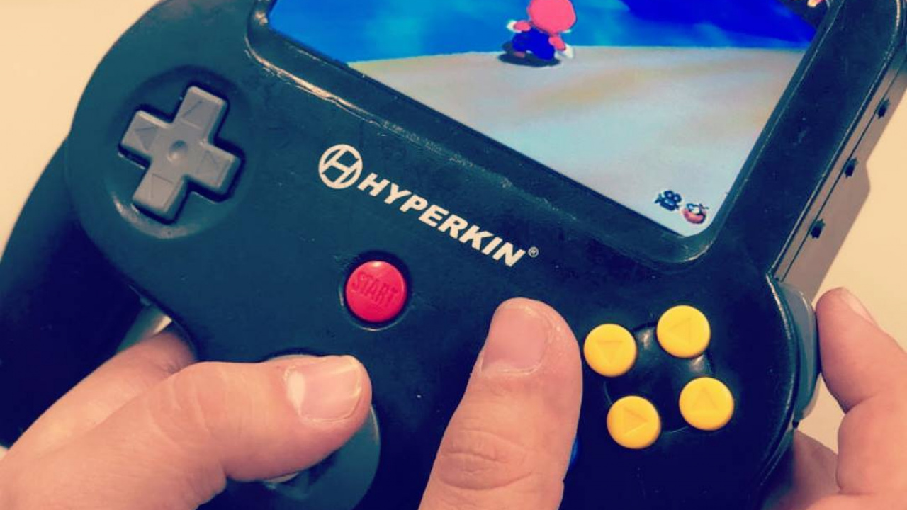 Hyperkin Has Created A Prototype Portable Nintendo 64 Mini Nintendo Life