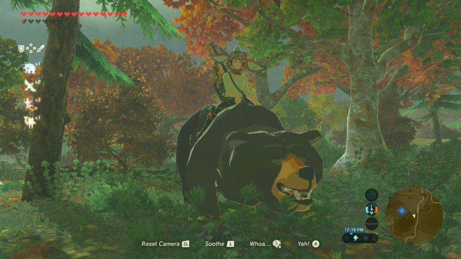 You can ride bears... nothing more needs to be said