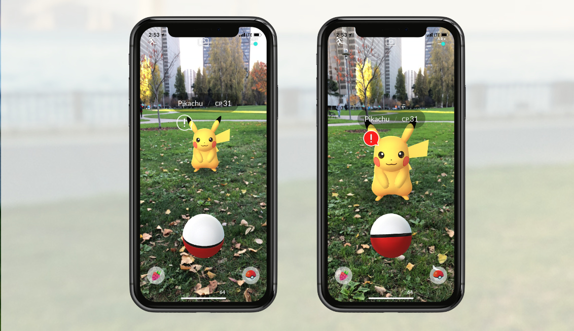 Here comes Pokemon Go's ARKit mode. Is your battery ready?