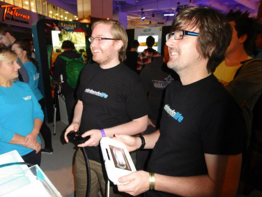 Tom and Damo @ EGX 2012