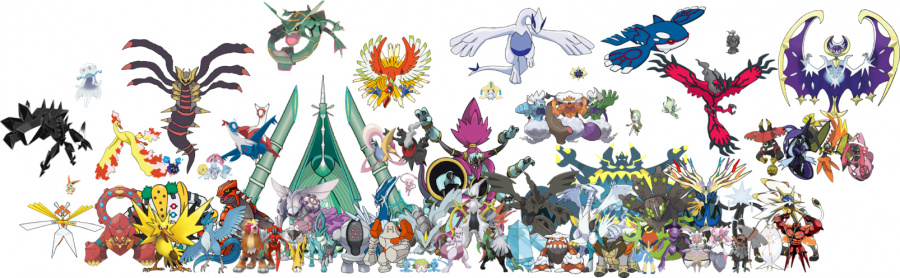 SO many Legendary and Mythical Pokémon. Are they even special anymore?