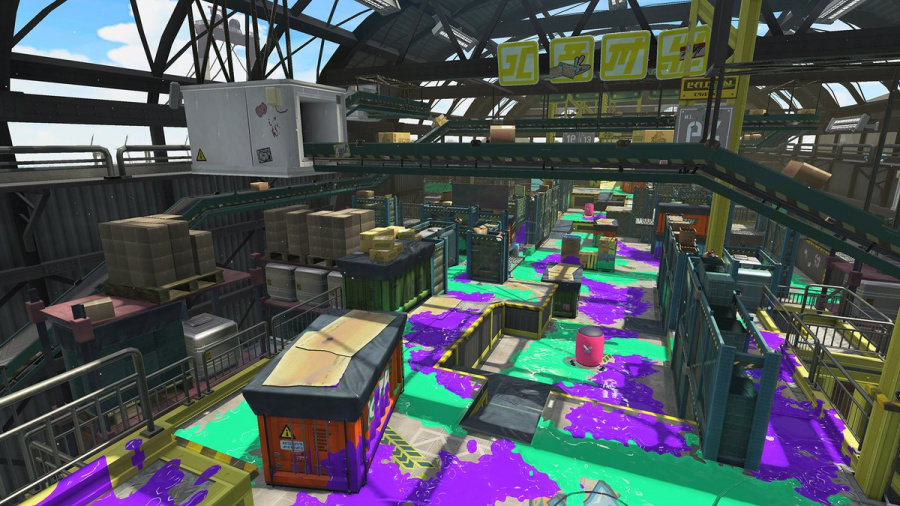 Splatoon 2 Walleye Warehouse