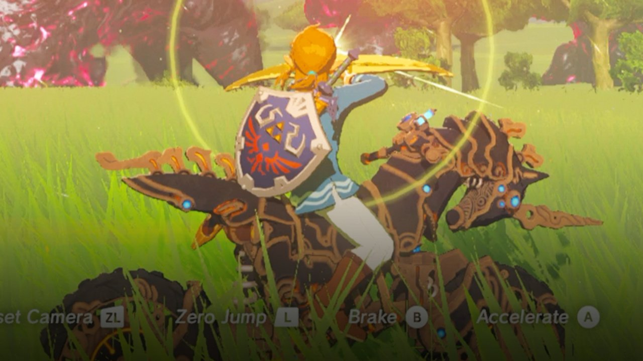 Zelda Breath Of The Wild Master Cycle: Video: Taking On The Final Boss With The Master Cycle Zero
