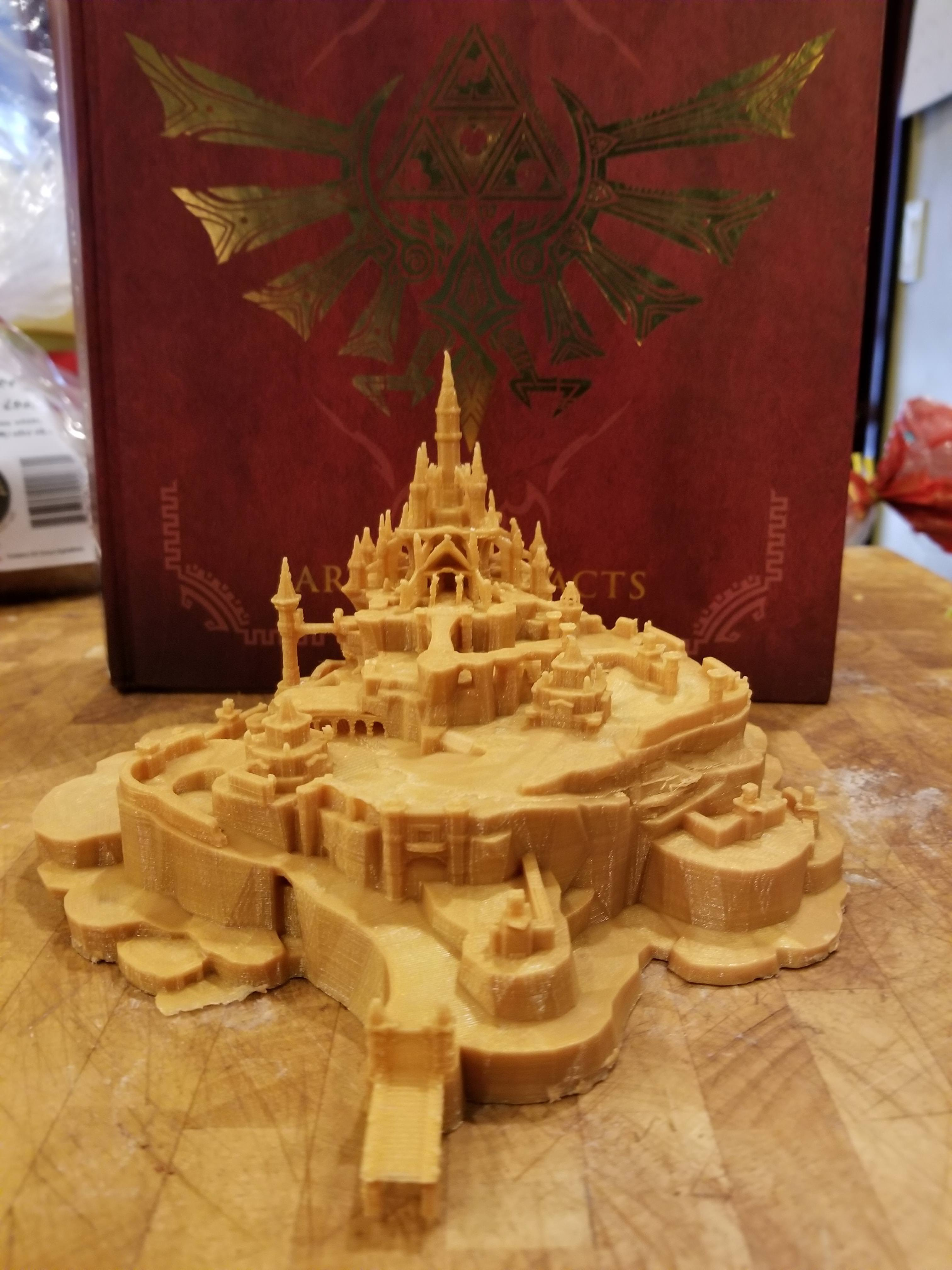 Awesome: Behold This Amazing Zelda: Breath Of The Wild 3D Printed