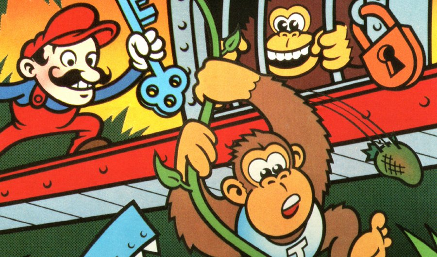 Donkey Kong Junior was apparently created in-house at Nintendo by reverse-engineering the original game's code, which Ikegami held