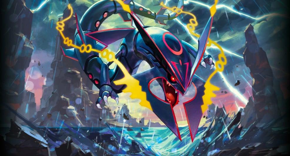 Legendary pok mon rayquaza comes to pok mon go nintendo life - Pokemon xy mega pokemon ...