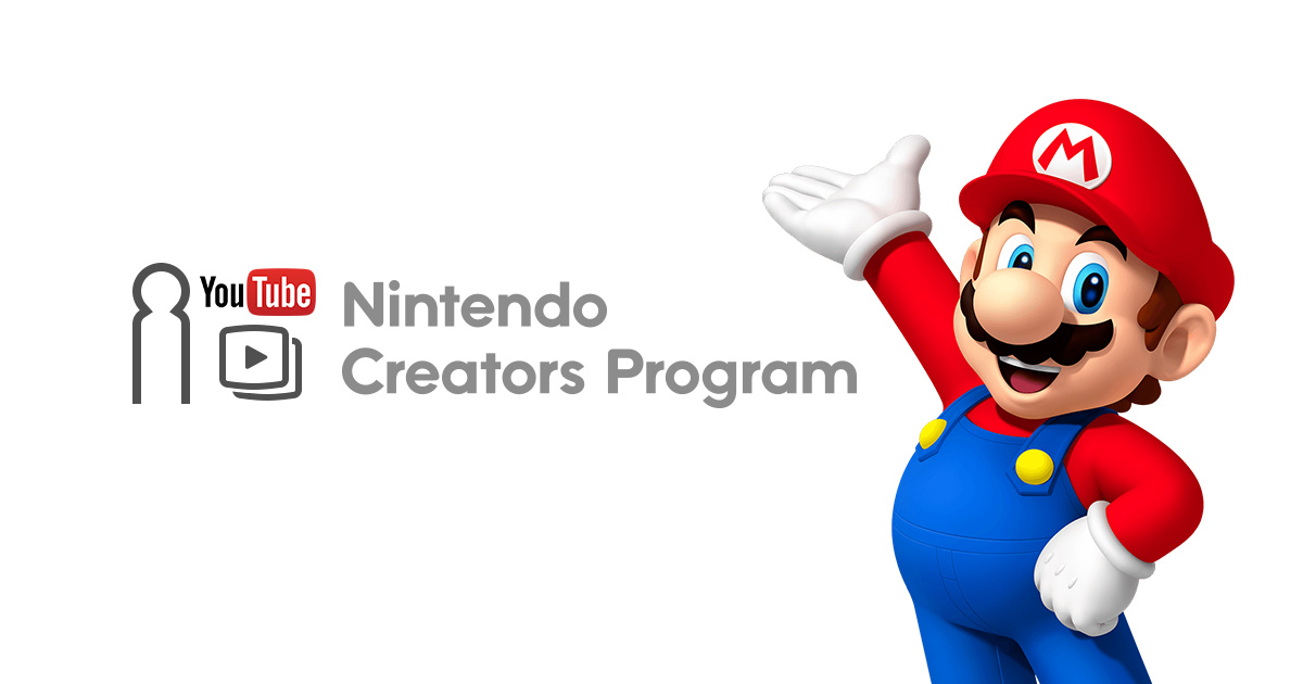 Nintendo Changes Requirements For Its Controversial YouTube Creators