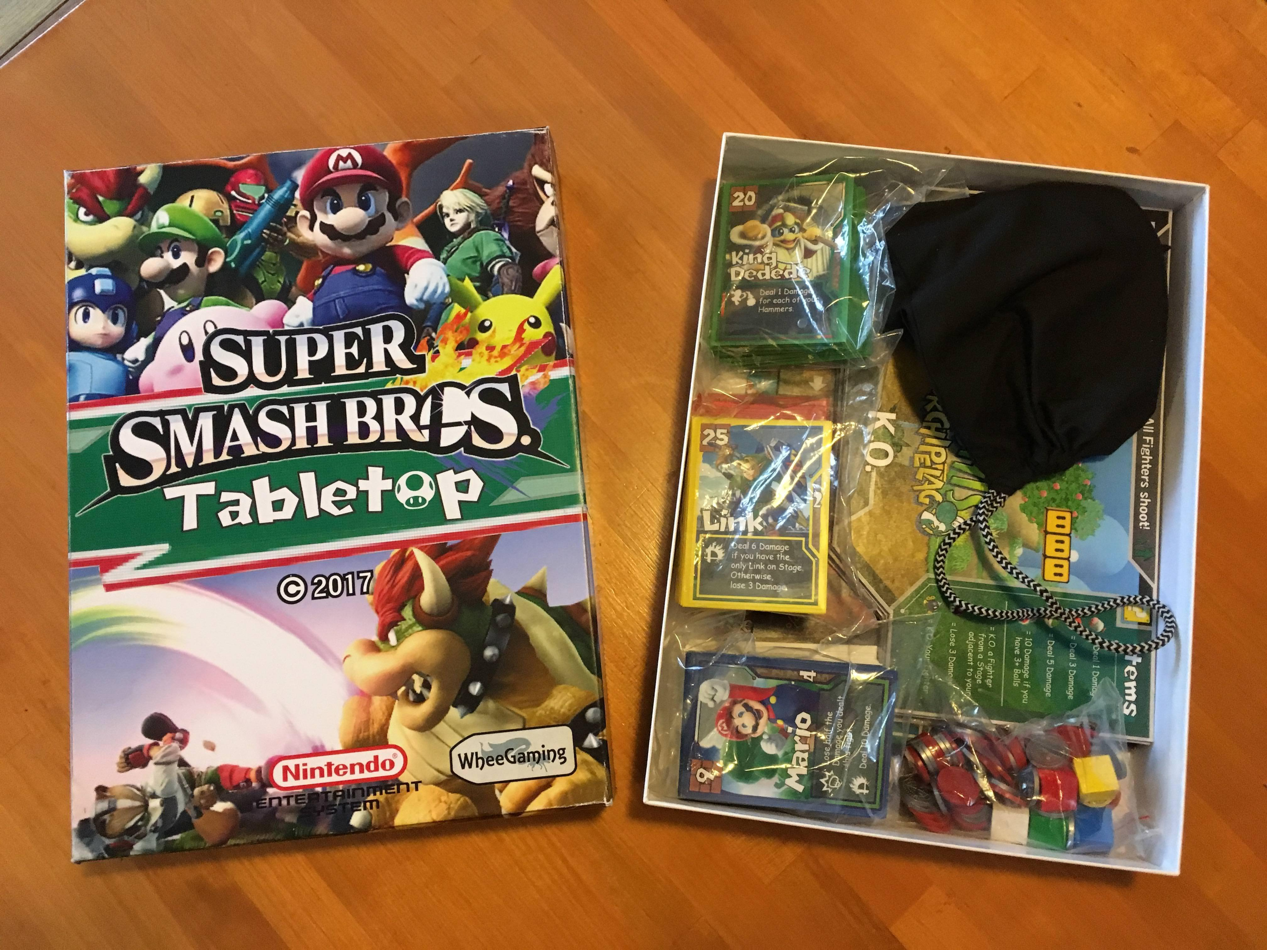 random check out this awesome fan made super smash bros board game