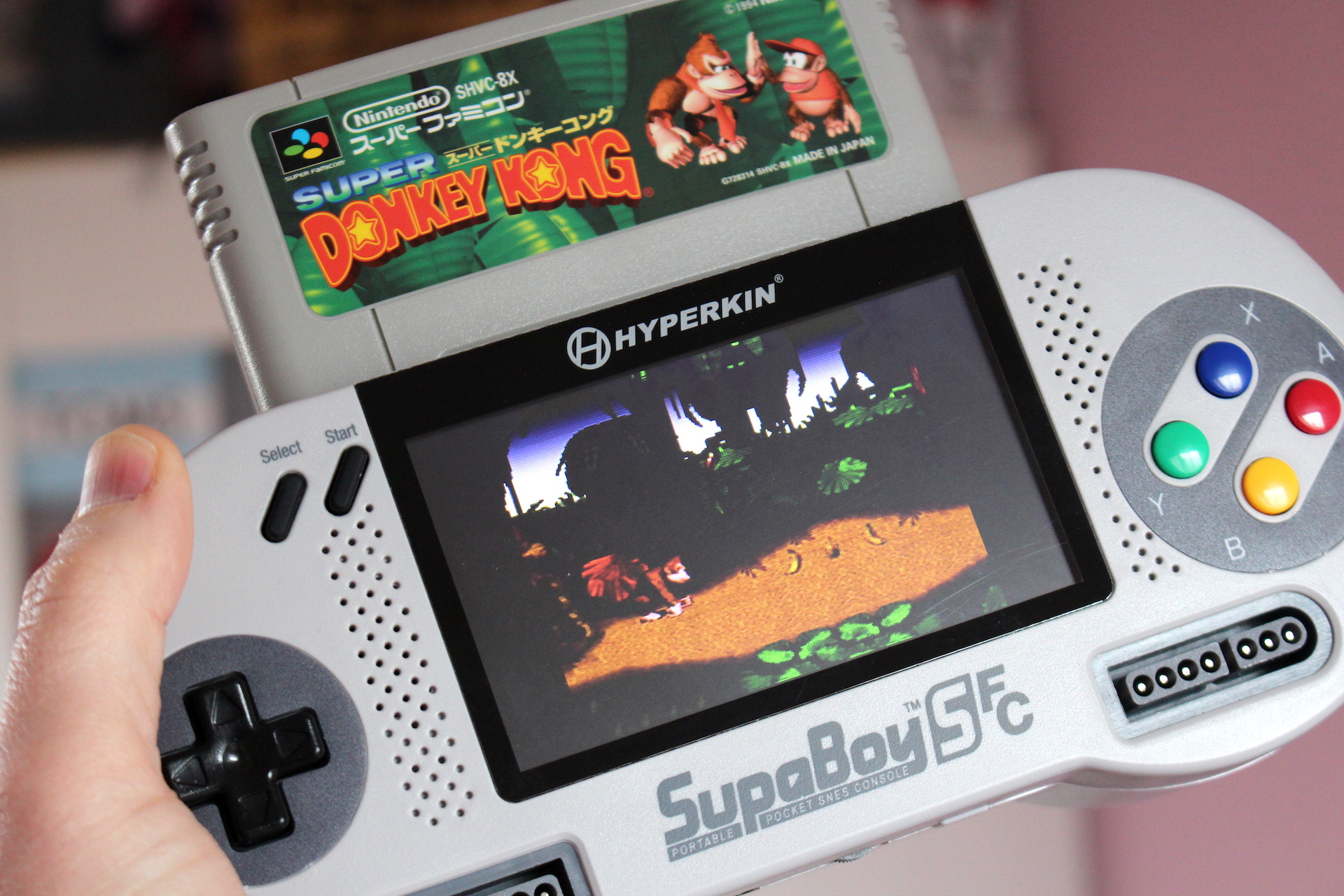Hardware Review: The Hyperkin SupaBoy SFC Is A Portable SNES For