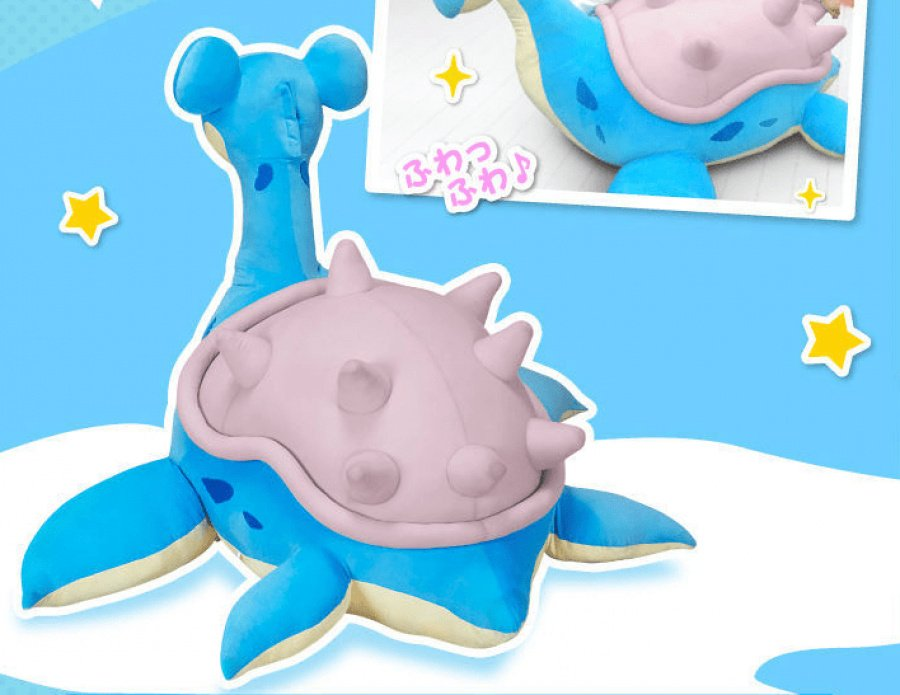 A look at Lapras' detail, which has been faithfully taken from the anime and video games.