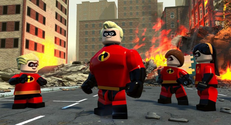 Image result for LEGO The Incredibles - Nintendo Switch