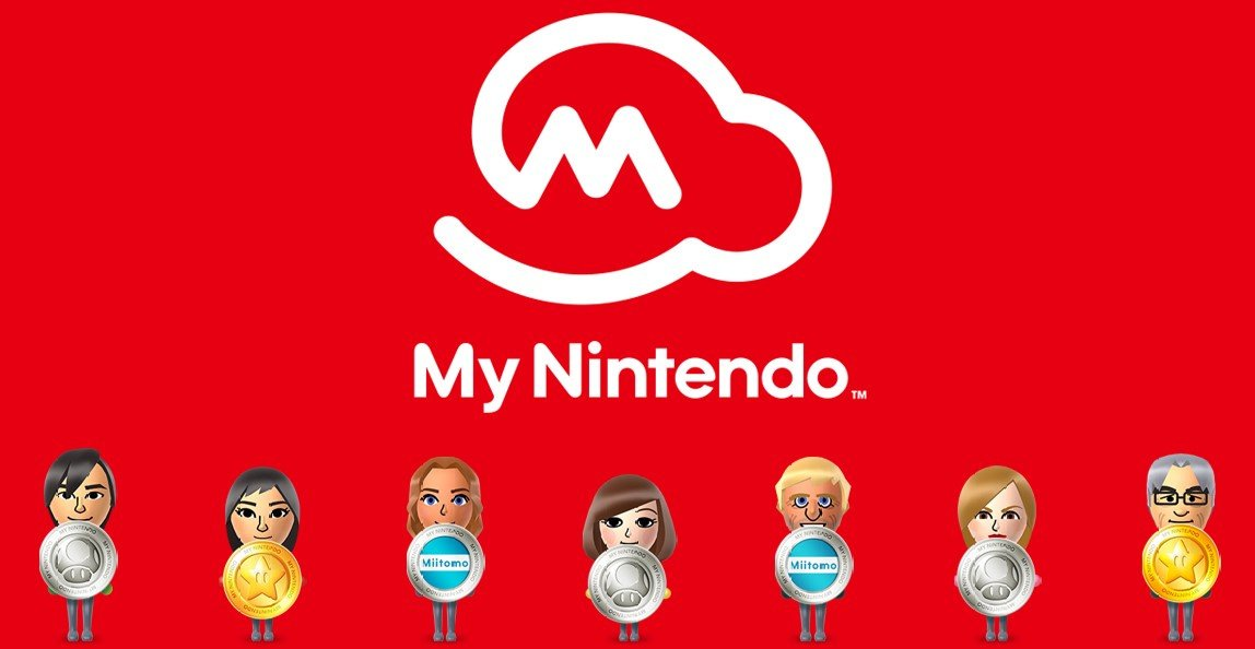 My Nintendo Gold Points can be used to buy Switch games