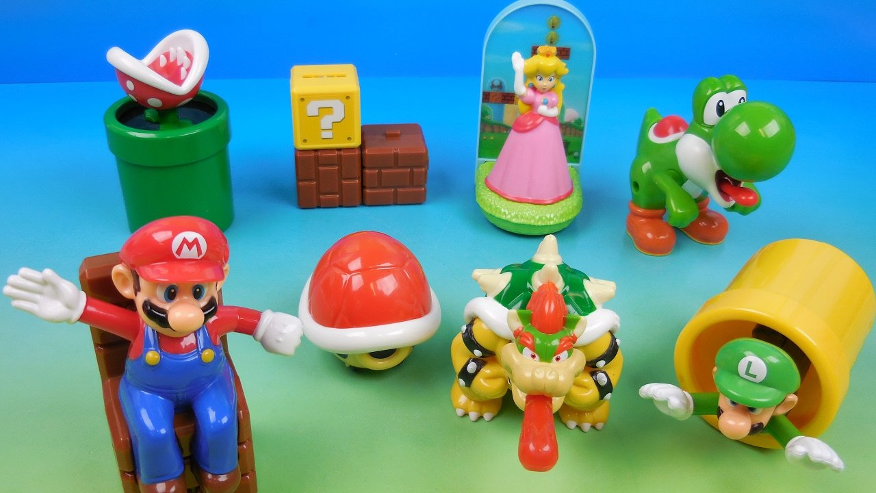 Happy Meal Toys : Super mario happy meal toys are coming back to the uk this