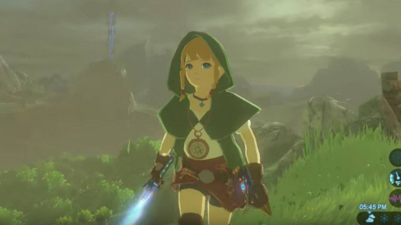 This Zelda: Breath Of The Wild Linkle Mod Isn't Official