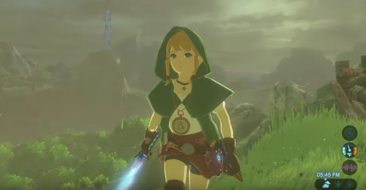 Animal Crossing Porn How Can My Ass Help This Town this zelda: breath of the wild linkle mod isn't official