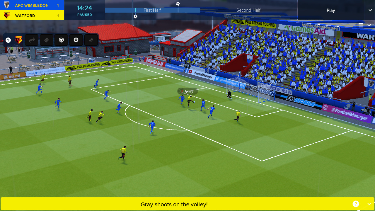 Football Manager Touch 2018 Kicks Off Today On Nintendo