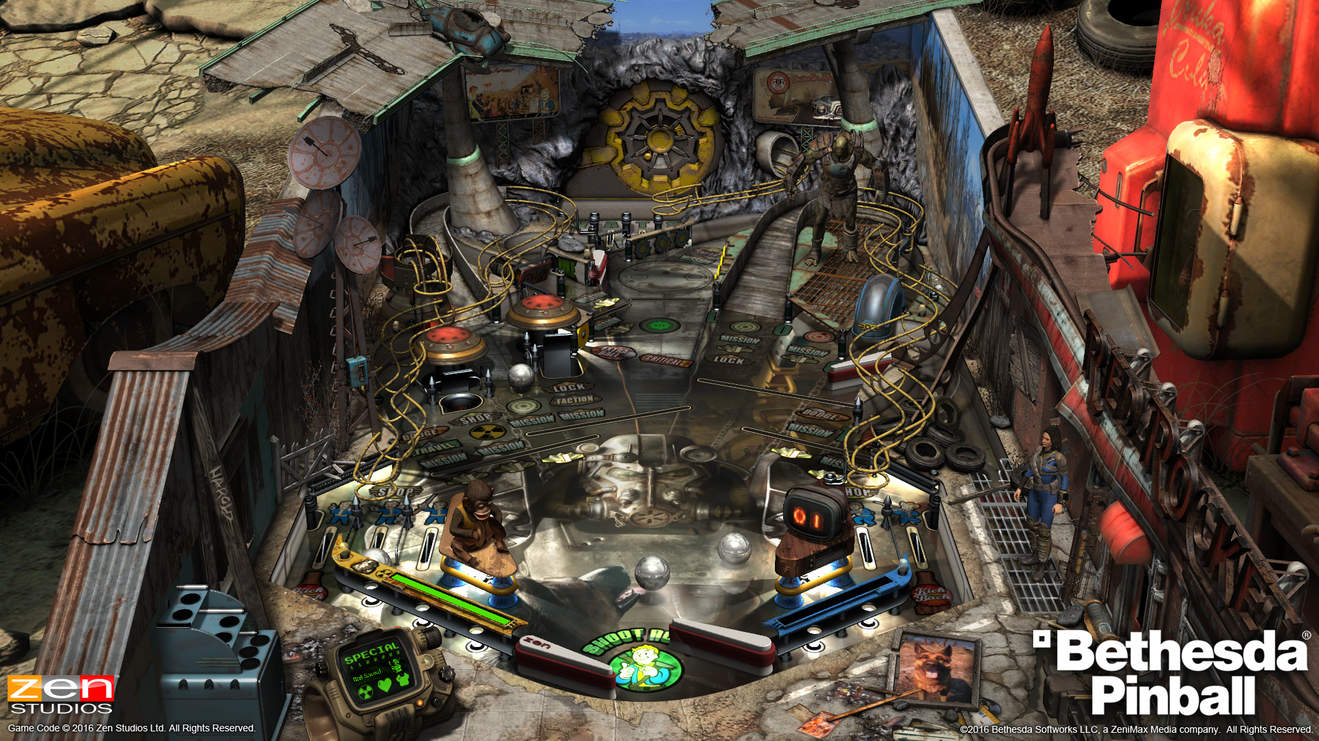Hands-On: Checking Out Pinball FX3's Bethesda-Themed Tables