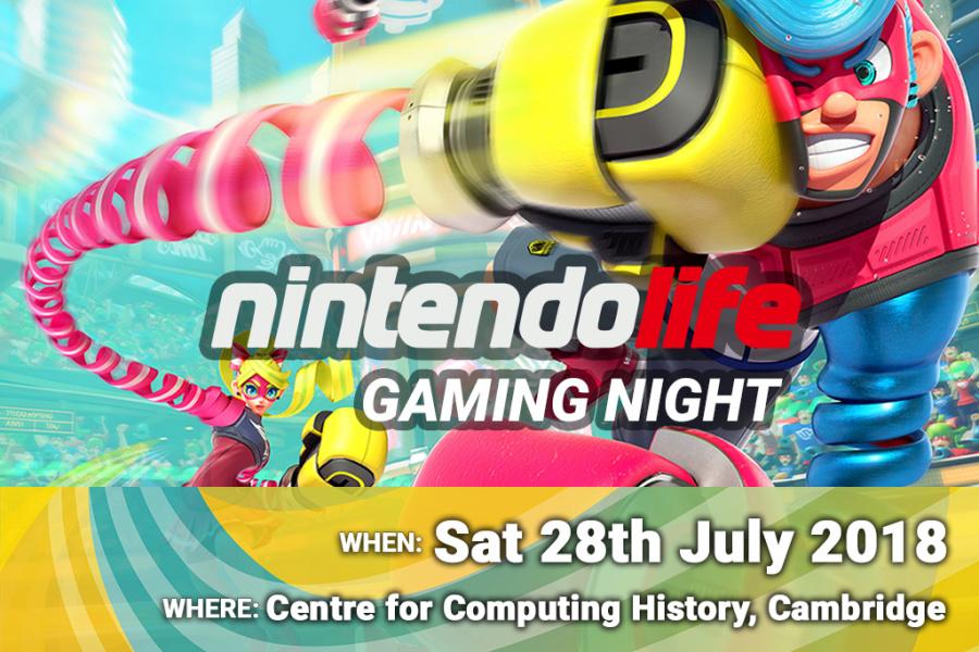 Nintendo Life Gaming Night