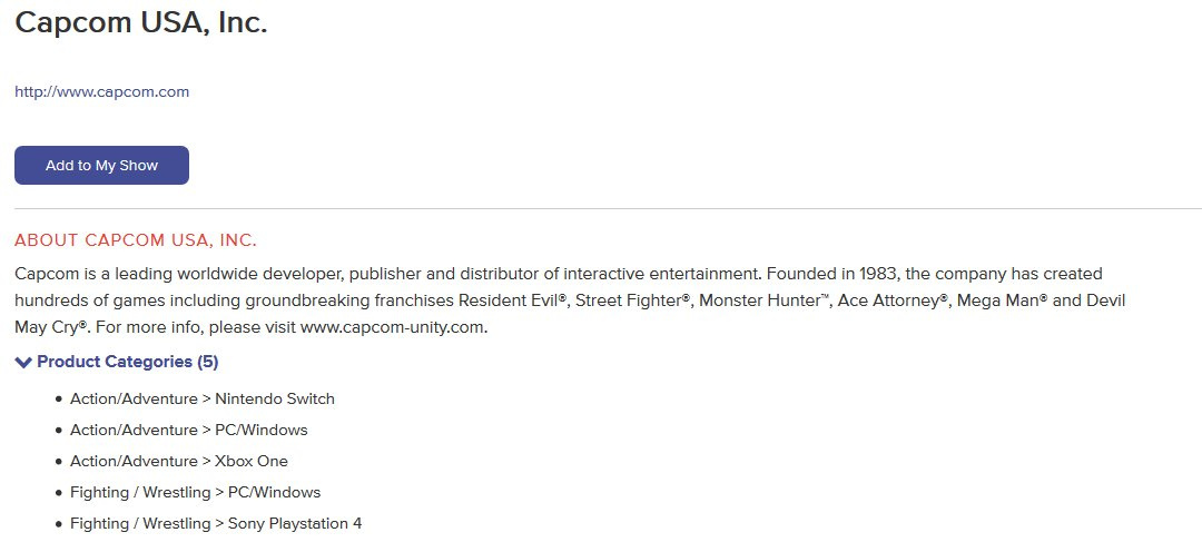 1d7d75e16b2 Rumour  Capcom Has Listed An Unnamed  Action Adventure  Game For E3 ...