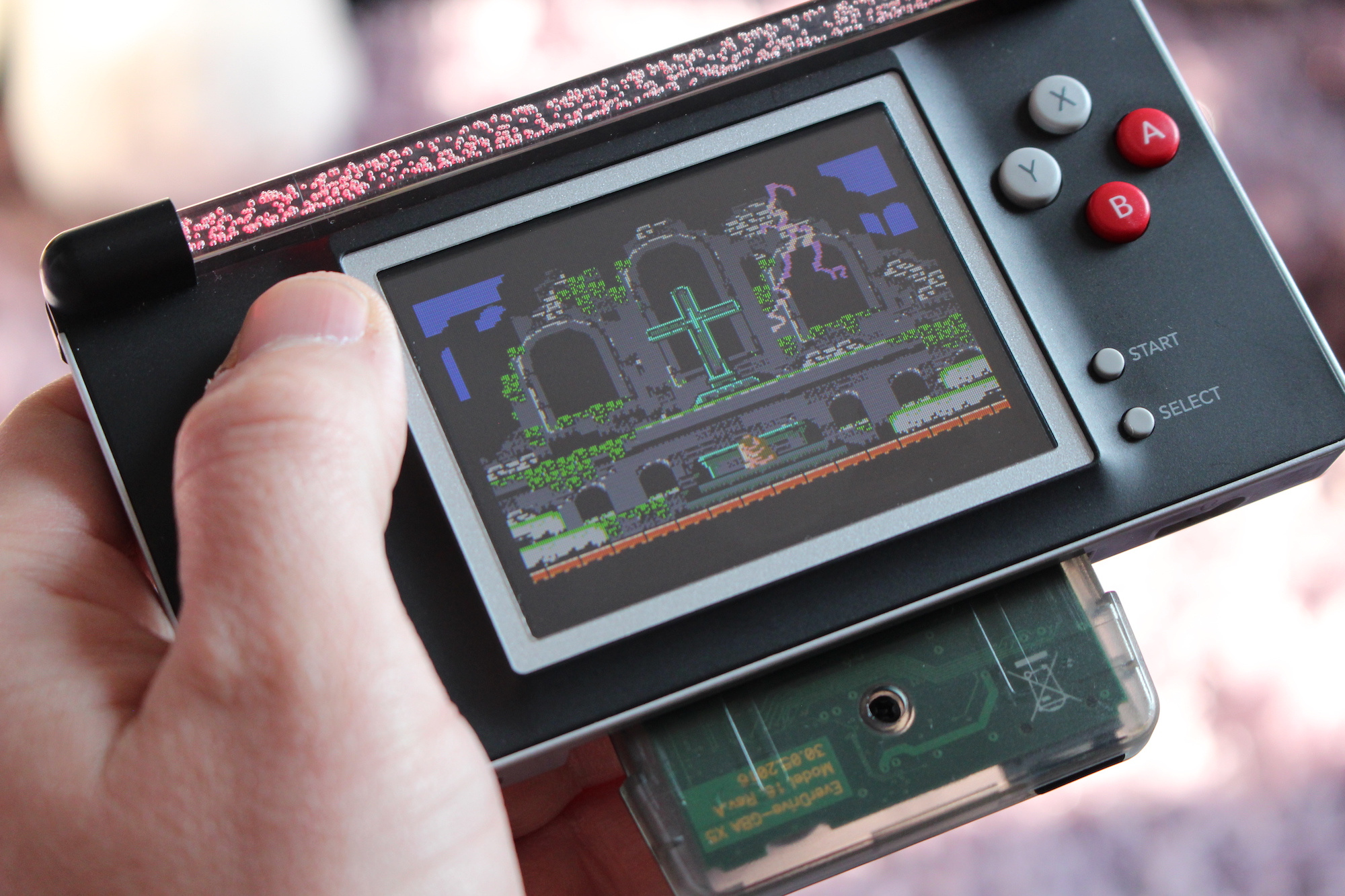 How One Man Is Turning Dead DS Lites Into Gorgeous Game Boy Advance