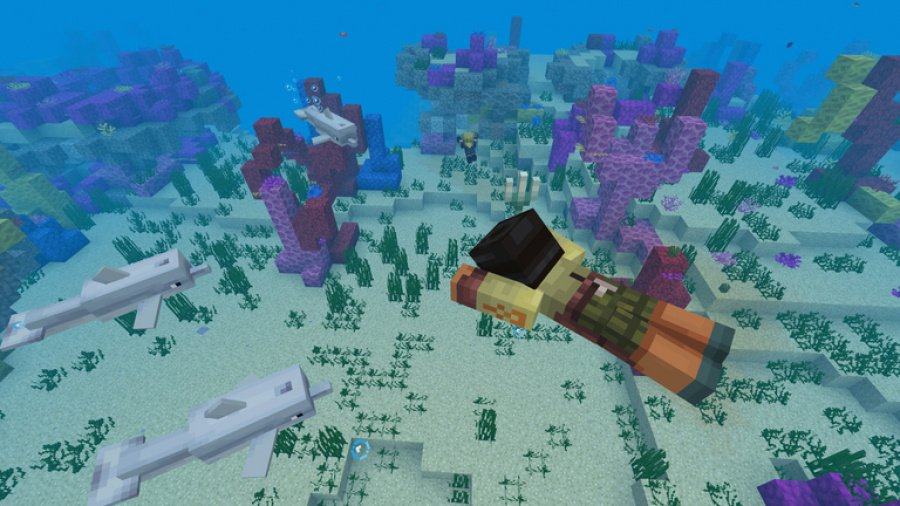 Mojang Details Phase One Features Of Update Aquatic For