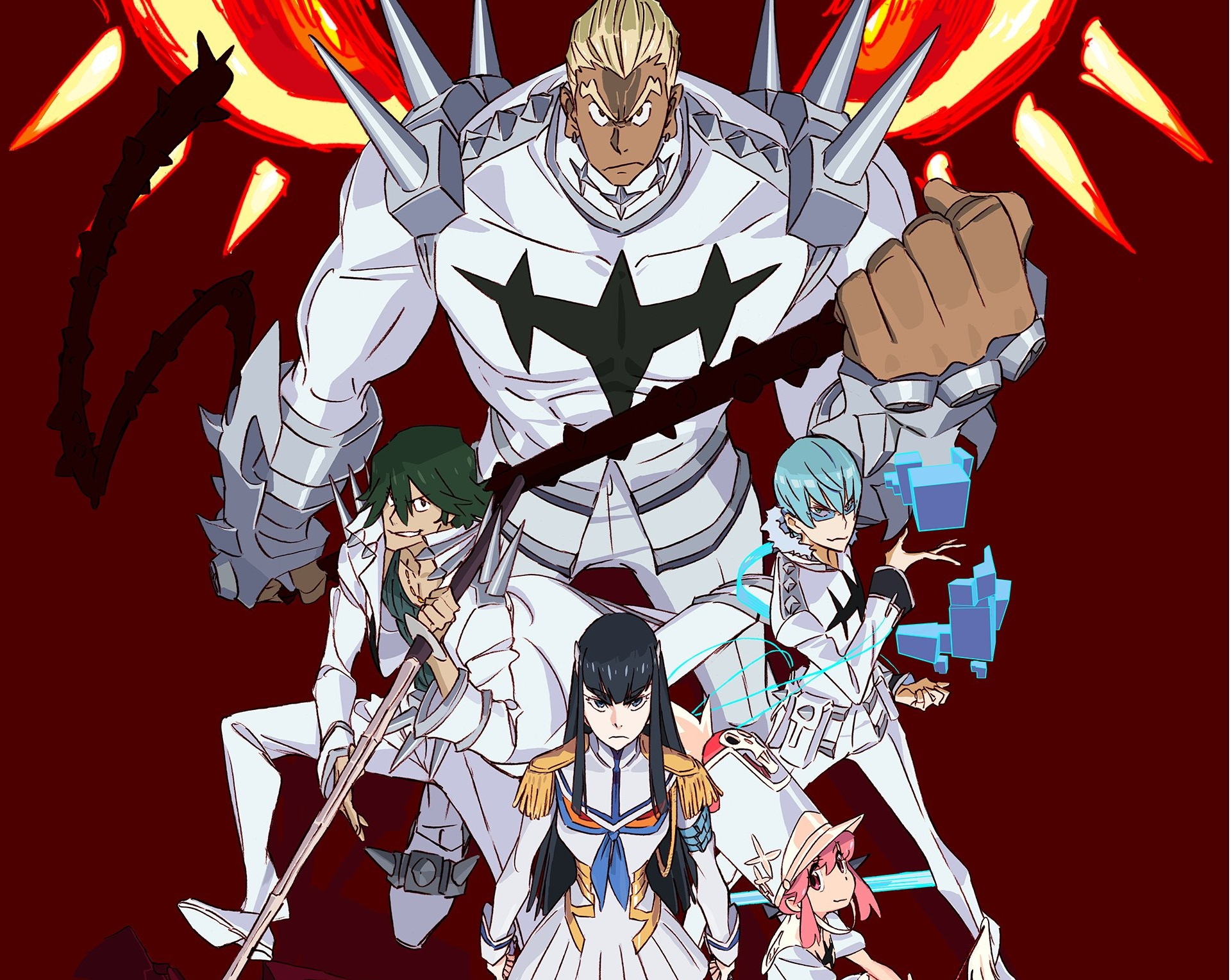 Teaser trailer reveals Kill la Kill game coming from Arc System Works