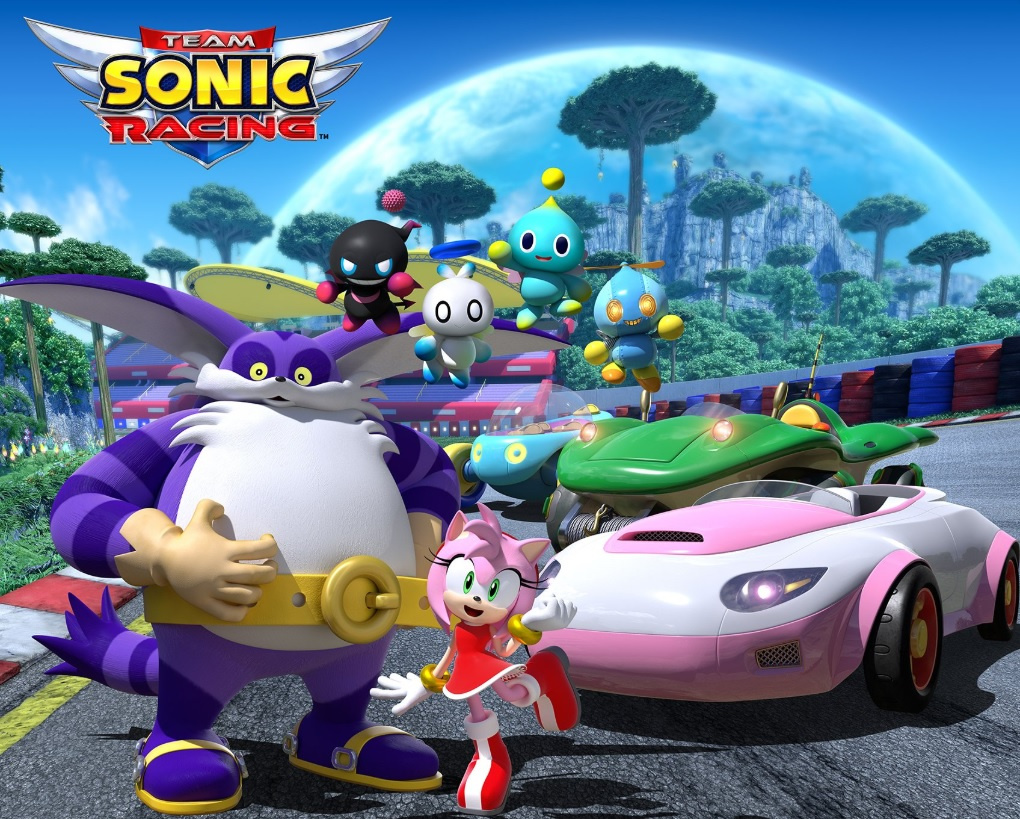 Big The Cat Chao And Amy Will All Be Playable In Team