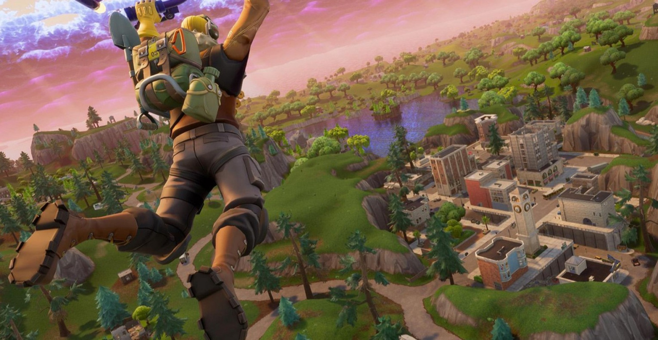 Fortnite players meeting at 'the rocket' for tomorrow's first real time mystery event