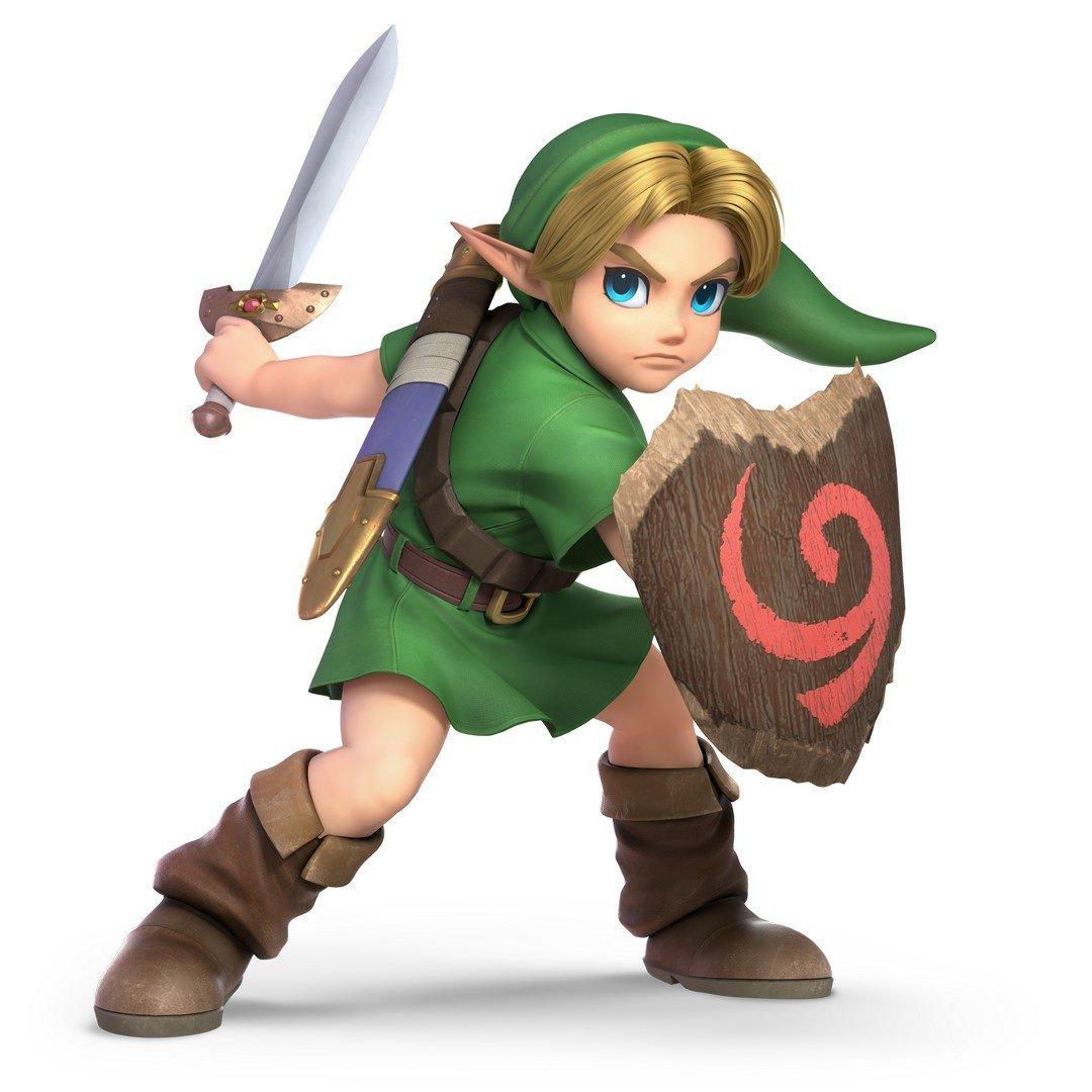 Ssb Link Super Smash Bros. Ulti...