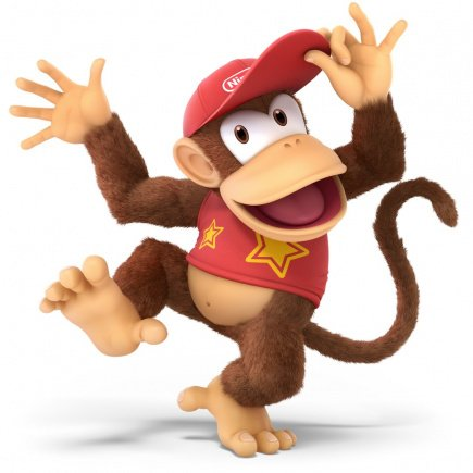 36. Diddy Kong