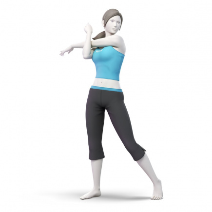 47. Wii Fit Trainer