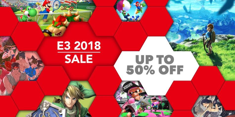 Grab Yourself A Bargain In The Big Nintendo E3 2018 Sale Nintendo Life