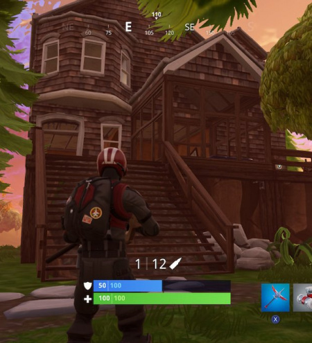 Fortnite Poster Locations Where To Spray Over Different