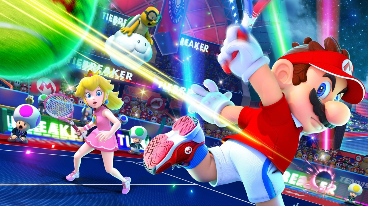 cd0cc0697 Mario Tennis Aces Won't Let You Play A Regular Game Of Tennis, And ...