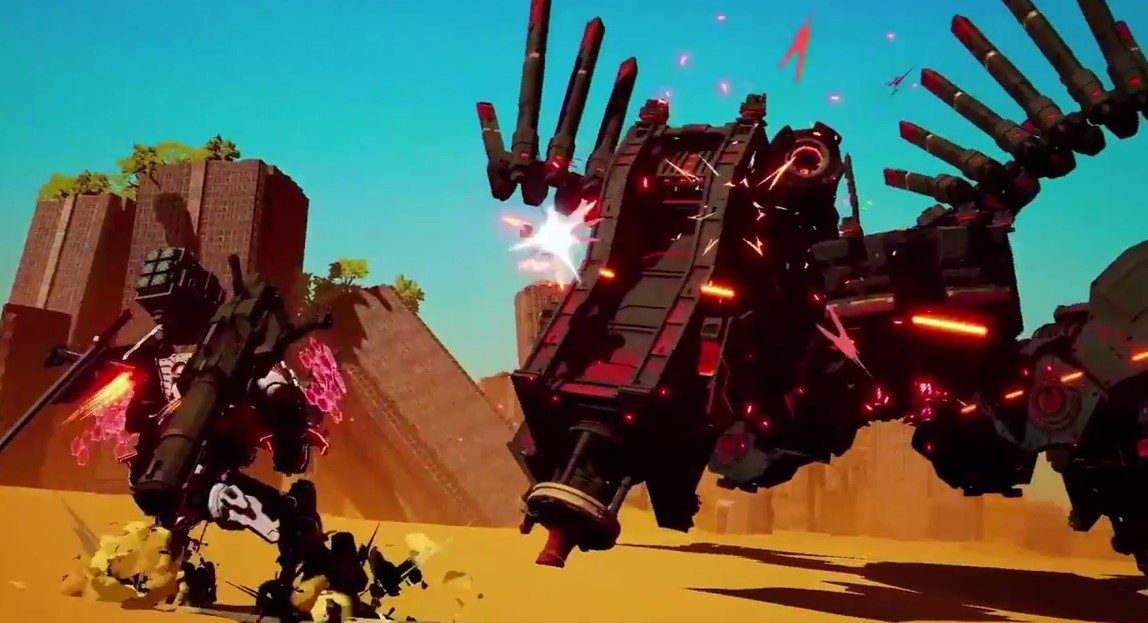 Daemon X Machina Revealed for Nintendo Switch