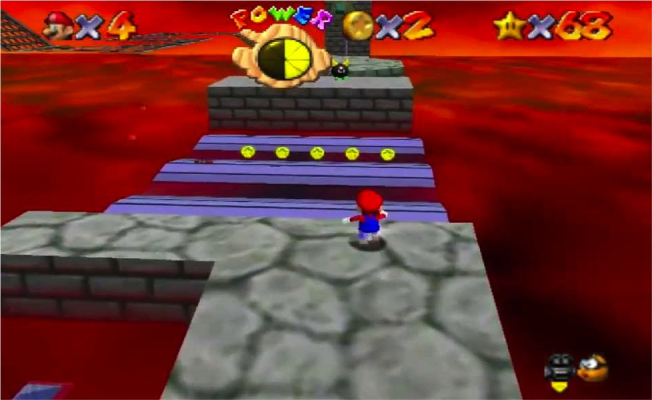 Random: A Newly Found Super Mario 64 Glitch Takes Three